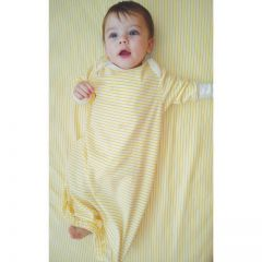 100% Softest Certified Organic Cotton Beaming Baby Chemical-Free Gown