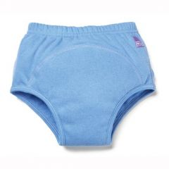 Available in 3 sizes Bambino Mio Training Pants Also available in Pink and White