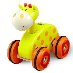 Wheely Giraffe Made with Non-toxic Paints and LaquersEco-Friendly Wood Resources