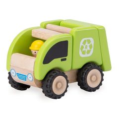 Uses Non-toxic Paints and Laquers - Wonderworld Mini Recycling Truck