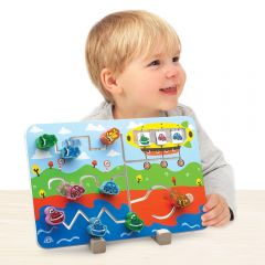 Beaming Baby Transport Matching Game - A great interactive toy for baby to develop writing, problem solving and planning skills!