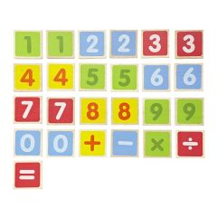Made from eco-friendly materials Wonderworld Numeric Magnet