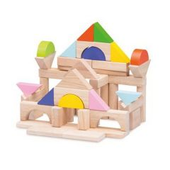 Made using sustainably harvested wood Beaming Baby 50 Pieces Blocks, 24 Months +
