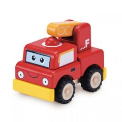 Made using sustainably harvested wood Beaming Baby Build A Fire Engine, 18 Months +