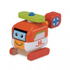 Made using sustainably harvested wood Beaming Baby Build A Helicopter, 18 Months +