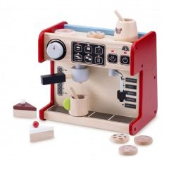 Made using sustainably harvested wood Beaming Baby All In 1 Coffee Shop Wooden Toddler Toy 36 Months +