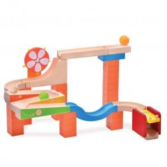 Made using sustainably harvested wood Beaming Baby Glow & Roll Wooden Toddler Toy 36 Months +