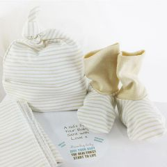 """100% Certified Softest Organic Cotton & GOTS Certified """"Snug as a Bug"""" Beaming Baby Gift Box SAVE £5.98"""