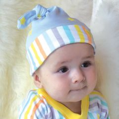 Beaming Baby Organic Cotton Hat Star and Stripe