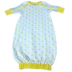 Beaming Baby Organic Cotton Baby Gown Ollie Owl