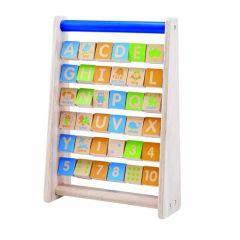 Beaming Baby Alphabet Frame, Wooden Baby Toy,