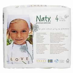 Nature Babycare Couches Maxi Taille 4 (27 couches) 7 à 18 kg