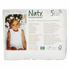 Single Pack - Nature Babycare Couches Cullotes (taille 5) Junior (20 couches)