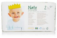 Nature Babycare Couches Mini Taille 2 (34 couches) 3 à 6 kg