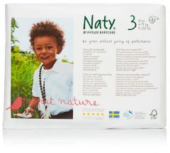 Nature Babycare Couches Midi Taille 3 (31 couches) 4 à 9 kg